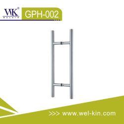 Verre en acier inoxydable et tirez la poignée de porte en bois (GPH-002)