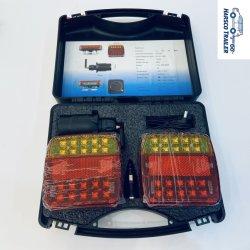 LED magnétique sans fil Kit de feux de remorque