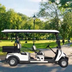 4 СИДЕНЬЕ С ЭЛЕКТРОПРИВОДОМ поле для гольфа автомобиль с грузом в салоне