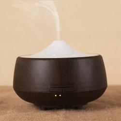diffuseur de parfum 250 ml Lampe LED Grain du bois d'Aromathérapie Huile essentielle de l'humidificateur à ultrasons diffuseur Cool Mist pour Office Accueil