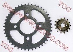 Yog Motorrad-Teil-Kettenrad-Installationssatz-Kette stellte für Bajaj Bm150 ein