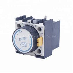 El temporizador de retardo 0.1-30s La2-DT2 Contacto de retardo de contactor de punto de la Plata el Temporizador de bloques de auxiliar