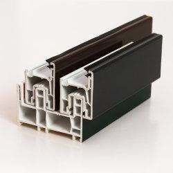 Windowsおよびドアのための着色されたASA/Laminated UPVC /PVCのプロフィール