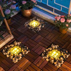 Energía Solar Jardín de césped en el exterior de la luz de la decoración de Patio de la pasarela camino porche paisaje