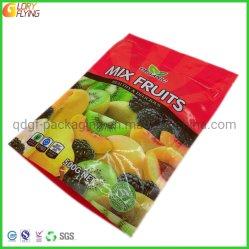 Встать пластиковый пакет с застежкой на молнию на замороженные продукты & Фрукты заводской упаковки из Китая