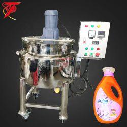 Agitador de demolição móveis de aço inoxidável de alta velocidade Química Alimentar com Camisa dupla Sumo de Leite Líquido Blend Shampoo Cosméticos depósito de mistura de aquecimento