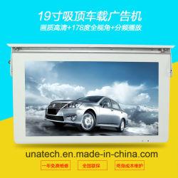 Pantalla Digital LCD Bus cartel Tótem de quiosco de montaje en pared/reproductor de vídeo Pantalla colgante para la dirección y la publicidad