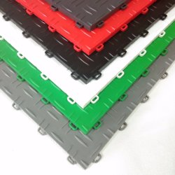 I pp che collegano le mattonelle di pavimento di plastica del garage/PVC multiuso dell'interno del vinile del rullo mette in mostra la pavimentazione per il garage