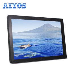 Visor LCD de ecrã IPS nova moldura fotográfica digital para prendas de Natal