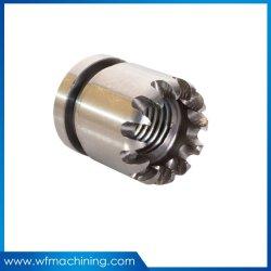Precision CNC usinagem de alumínio personalizado ligado/rodando partes de bicicletas