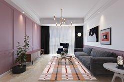 Vier Farben-neue Entwurfs-Teppiche und Wolldecke-Fußboden-Wolldecke