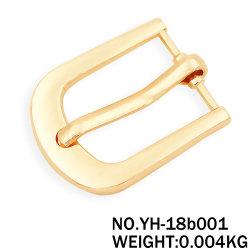 Brücke-Befestigungsteil-Licht-Goldmetallriemenpin-Faltenbildung für Beutel