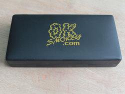 Cuir synthétique personnalisé E- cigarette électronique boîte cadeau