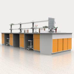 El Hospital de alta calidad personalizado laboratorio de química de la escuela de la isla de acero del banco de trabajo con cajones/.