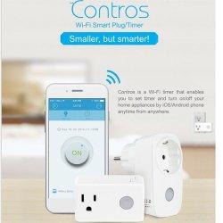 Broadlink Sp3 Smart WiFi nos toma de enchufe adaptador para el Alexa Google Portada Android Ios APP Salida inalámbrico mando a distancia