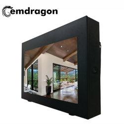 3G LCD 광고 플레이어 55인치 공랭식 수평 화면 행잉 아웃도어 광고 기계 - 2 LED 디지털 사이니지 미니 CCTV LCD 모니터