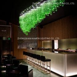 Club Bar Bar Strip Decoración creativa moda lámpara de araña de cristal (km.1012)