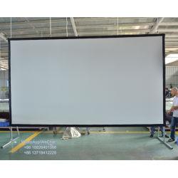 高品質は220インチの前部および背面映写のフィルム完全なHDの速いフォールドスクリーンプロジェクターとの箱を運ぶ