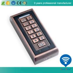 K81 caja de metal del controlador de acceso independiente de teclado