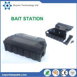 Estação de isco rato Rato Controle de roedores se livrar de camundongos Rat Trap de plástico preto
