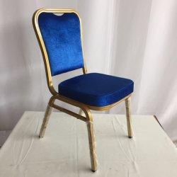 De aluminio de color oro Chivari sillas con almohadones/ Utiliza sillas para banquetes boda