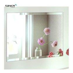 3mm en Aluminium Cuivre miroir Silver gratuit s'accrocher au mur de la salle de bains