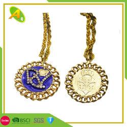 De goedkope Medaille van Kerstmis van de Verven van het Goud/van het Zilver/van het Messing van de Markt van de Manier van de Citaten van het Embleem van de Douane Epoxy In reliëf gemaakte Herdenkings voor Sporters Geen MinimumOrde (130)