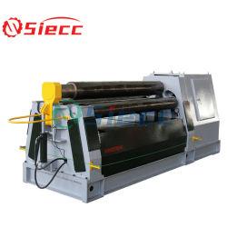 De Prijs CNC 3 van de fabrikant Machine van het Broodje van de Kegel van de Plaat van het Metaal van het Blad van 4 Rol de Automatische Elektronische Hydraulische Kleine Rolling Buigende