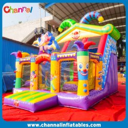 서커스 클래우스의 팽창식 슬라이드/파티 클래리 플랫데일 어린이 슬라이드 Chsl1125