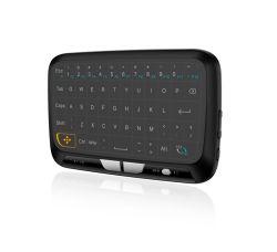 H18 Touch-Pad retroiluminado teclado sem fios Ecrã completo teclado USB
