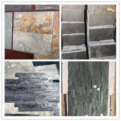 طبيعيّة ثقافة حجارة أسود/اللون الأخضر/زرقاء/أصفر/صدئة/بيضاء أردواز حجارة لأنّ تسليف/[رووف//فلوورينغ/فلوور/ولّ] [كلدّينغ]/يرصف قرميد