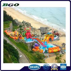 Toboganes inflables de PVC piscina para juego de deportes