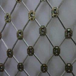 Het Geweven Opleveren van de knoop Hand voor het Netwerk van de Bescherming van de Helling van de Daling van de Rots