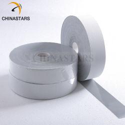 試供品の高いポリエステル反射テープは衣類の反射マーキングテープで縫う