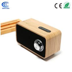 최신 판매 공장 가격 최고 베이스 건강한 오디오 나무로 되는 스피커 무선 Bluetooth 스피커 상자