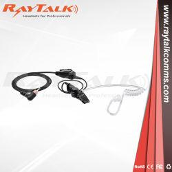 قطعة أذن مجدولة مع أنبوب شفاف صوتي لموتورولا SL400، SL7550