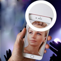 電話カメラの写真撮影のためのSelfieのリングライトのクリップ