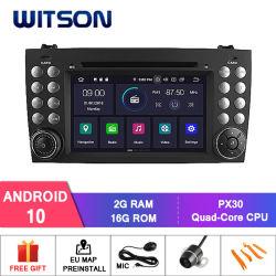 Witson Android Quad-Core 10 para Benz da SLK200/Da Slk280/Da Slk350/Da Slk55 2004-2012 1080P HD Video