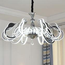Brilho da parede LED moderno Lustre Cisne Luminárias (WH-LC-01)
