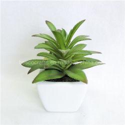 Искусственные листочком ананаса мини сочные растения