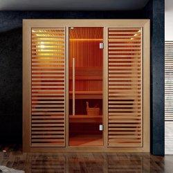 Sauna Room Cabine De Douche Sauna Hammam della Finlandia delle 4 persone