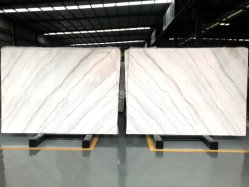 Natural Stone Grey/White/Black/Red/Brown/Green/Golden/Yellow/Polished/Leathered/Honed/Flamed Guangxi marmo bianco per cucina da banco bagno Sezione parete