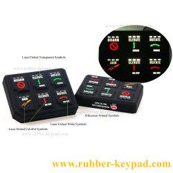 カスタマイズボタン / スイッチ / パッドメンブレンシリコンラバーリモートコントロールキーボードキーパッド
