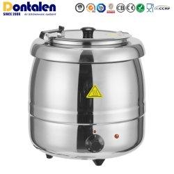 مطعم Dontalen 10 L Silver Soup الحبار يقدم الطعام، ومطعم Pot Food Cooking أدوات المطبخ ذات التدفئة الكهربائية من الفولاذ المقاوم للصدأ أدوات المطبخ أدوات الطبخ أدوات المطبخ غلاية
