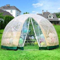 팽창식 거품 캐노피 가제보스 하우스 온실 뒤뜰의 돔 캠핑 텐트 Air Glamping 텐트 하우스 텐트