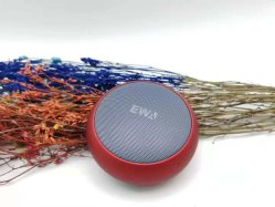 Altavoz Bluetooth de metal redondo Ewa A110, apoyo la tarjeta del TF/Aux/manos libres