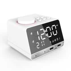 Drahtloser Bluetooth Lautsprecher des Hotel-LED mit Taktgeber-Warnungs-Radio