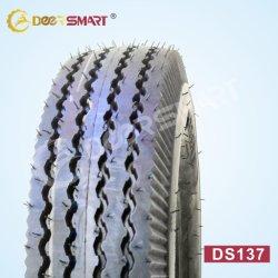 Accessoires de moto de gros de la Chine 400 8 prix haut de la marque de pneus pour la vente de pneus de tricycle la taille des pneus Pattern 4.00-8 DS137 (TT/TL) de pneus de moto