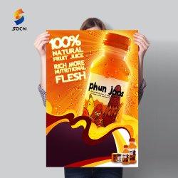 バルク安いサービス習慣A0 A1 A2 A3 A4の壁によって薄板にされるアートペーパーポスター印刷
