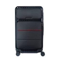 Abertura frontal estuche de viaje de negocios de almacenamiento 20 / 24 / 28 pulgadas de rueda Universal Maletín